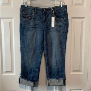 Tommy Hilfiger NWT freedom low rise crop jeans